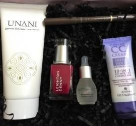 GLOSSYBOX April 2016 Subscription Box Review