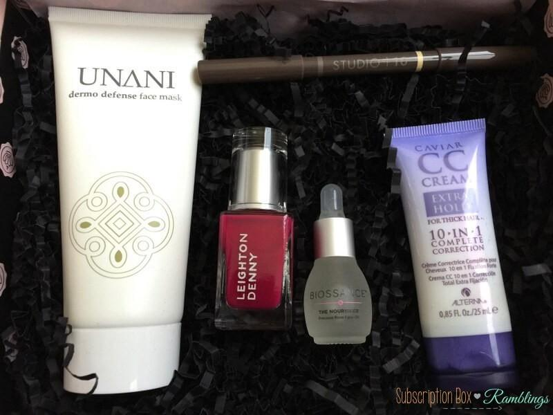GLOSSYBOX Review + Coupon Code – April 2016
