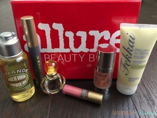 Allure Beauty Box April 2016 Subscription Box Review
