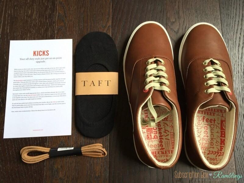 "Bespoke Post Review + Coupon Code – April 2016  – ""Kicks"""