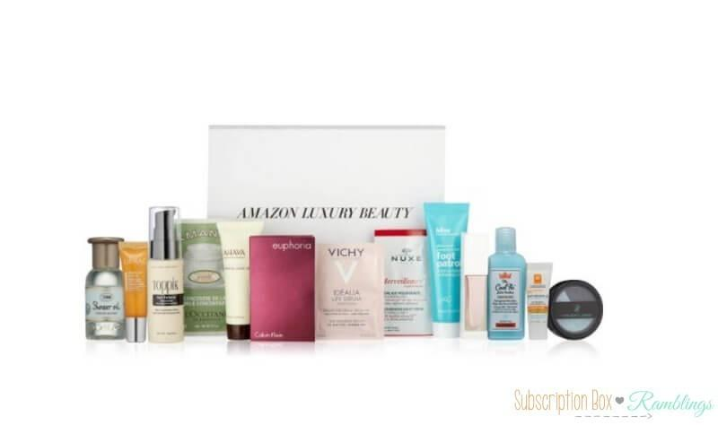 Amazon Luxury Beauty Box 8 99 Or Free With Purchase