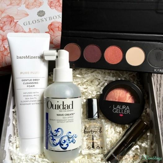 GLOSSYBOX Review – 2016 Limited Edition Mother's Day Box Review