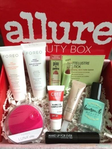 Allure Beauty Box May 2016 Subscription Box Review