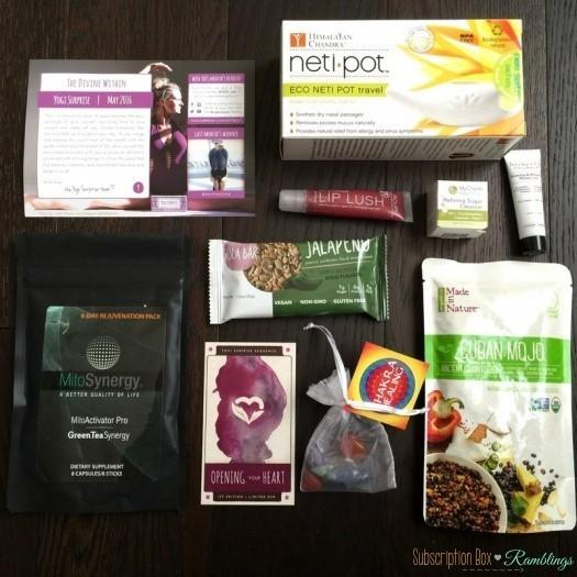 Yogi Surprise May 2016 Subscription Review + Coupon Code