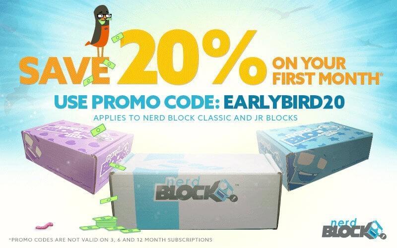Nerd block coupon code