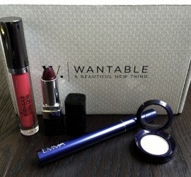 Wantable Makeup June 2016 Subscription Box Review