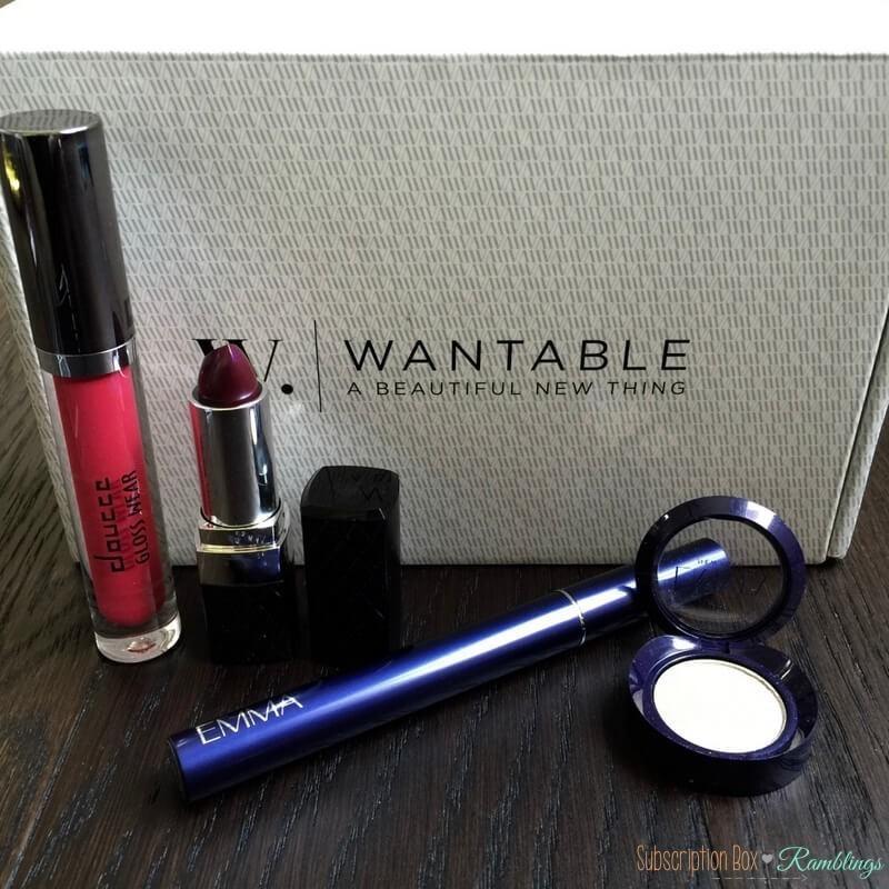 Wantable Makeup Review - June 2016 - Subscription Box ...