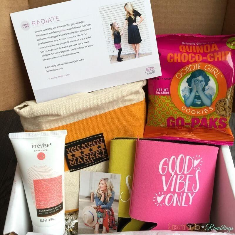 Mommy Mailbox Review – June 2016
