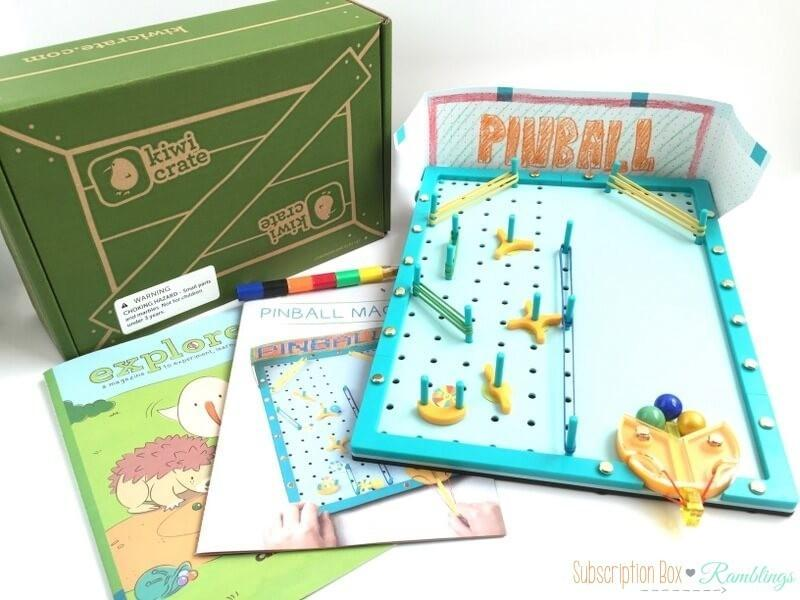 Kiwi Crate Review Coupon Code May 2016 Subscription