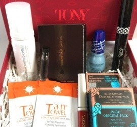 GLOSSYBOX June 2016 Subscription Box Review