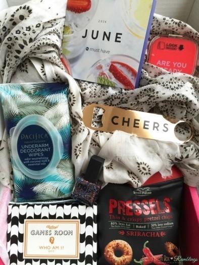 POPSUGAR Must Have Box June 2016 Giveaway! (CLOSED)