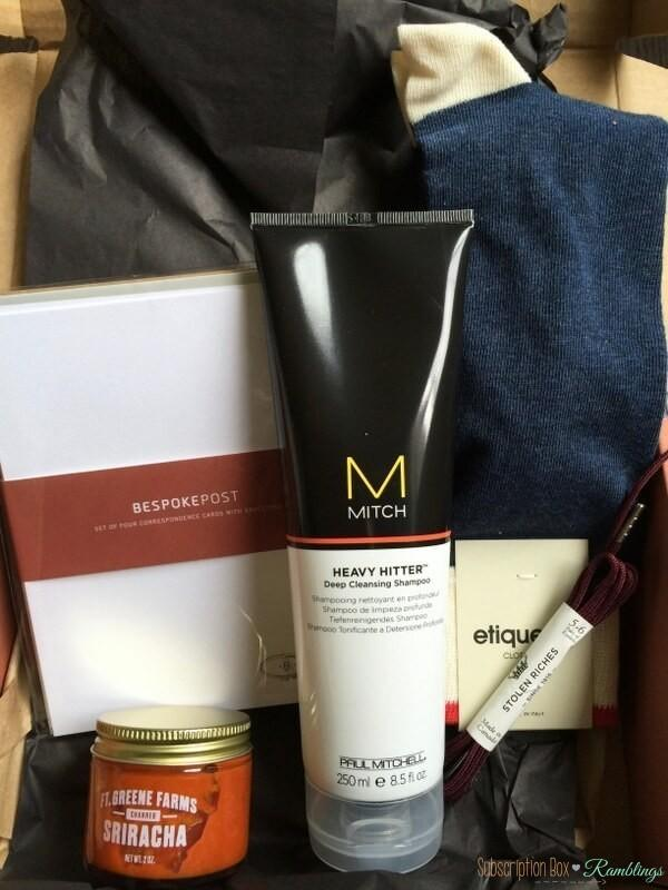 Bespoke Post Review 2016 Mystery Box