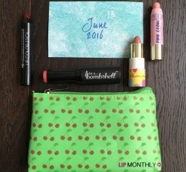 Lip Monthly June 2016 Subscription Box Review + Coupon Code