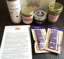 BOXWALLA Food Box June 2016 Subscription Box Review