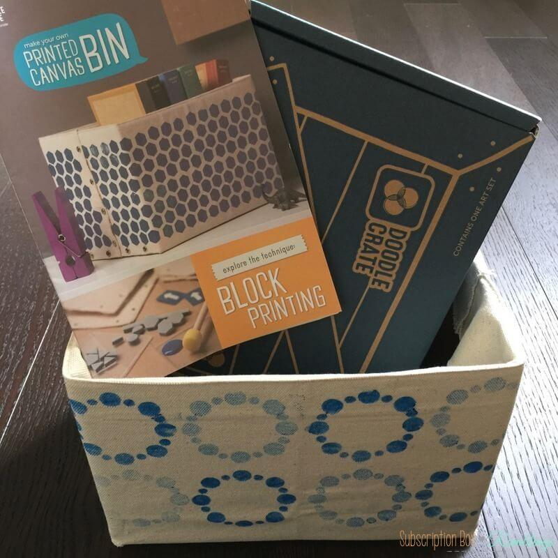 Doodle Crate Review + Coupon Code – June 2016