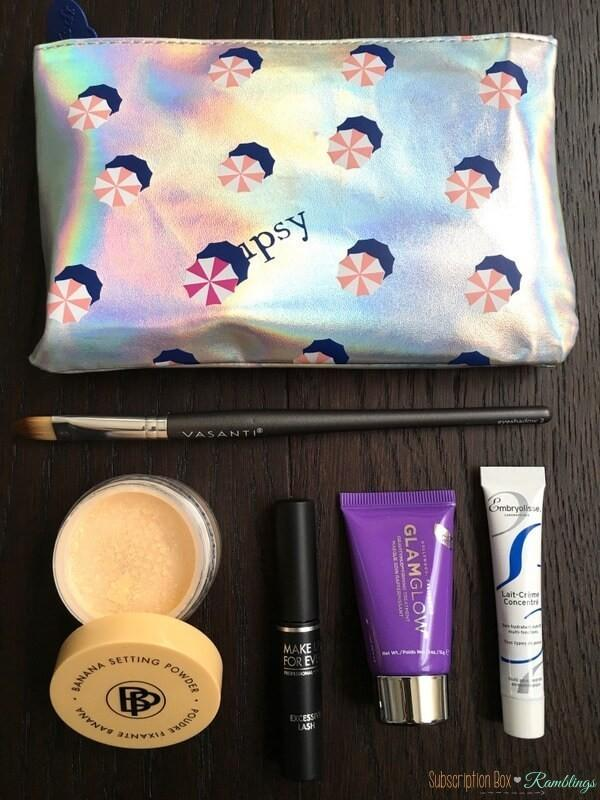 ipsy July 2016 Subscription Box Review