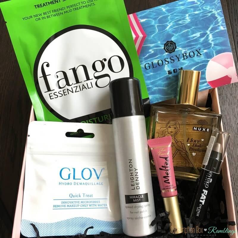 GLOSSYBOX Review + Coupon Code – July 2016