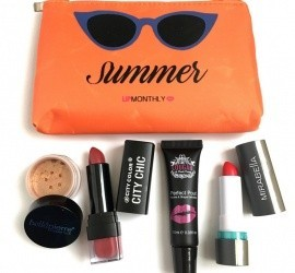 Lip Monthly July 2016 Subscription Box Review + Coupon Code