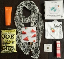 POPSUGAR Must Have Box July 2016 Subscription Box Review + Coupon Code