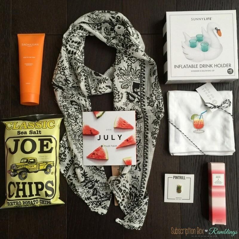 POPSUGAR Must Have Box Review + Coupon Code – July 2016