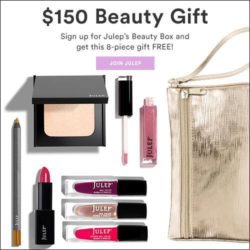 Julep Free 8-Piece Beauty Set with New Subscriptions (Still Available)!