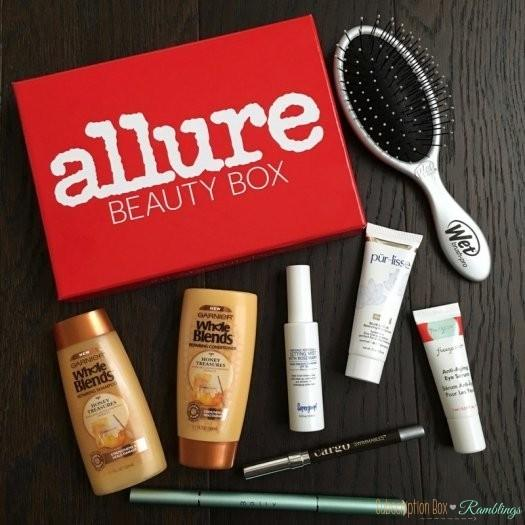 Allure Beauty Box August 2016 Subscription Box Review