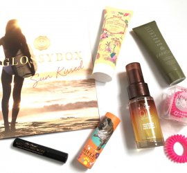 GLOSSYBOX August 2016 Subscription Box Review + Coupon Codes