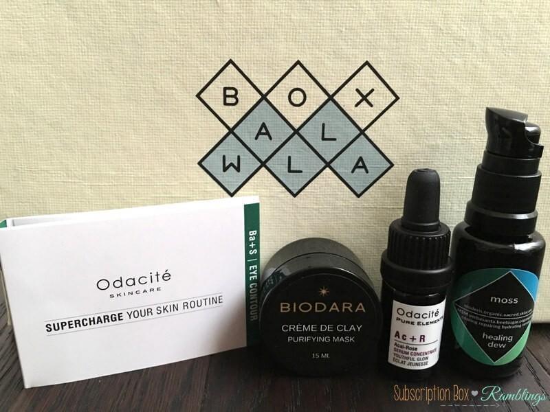 BOXWALLA Beauty Box Review – August 2016