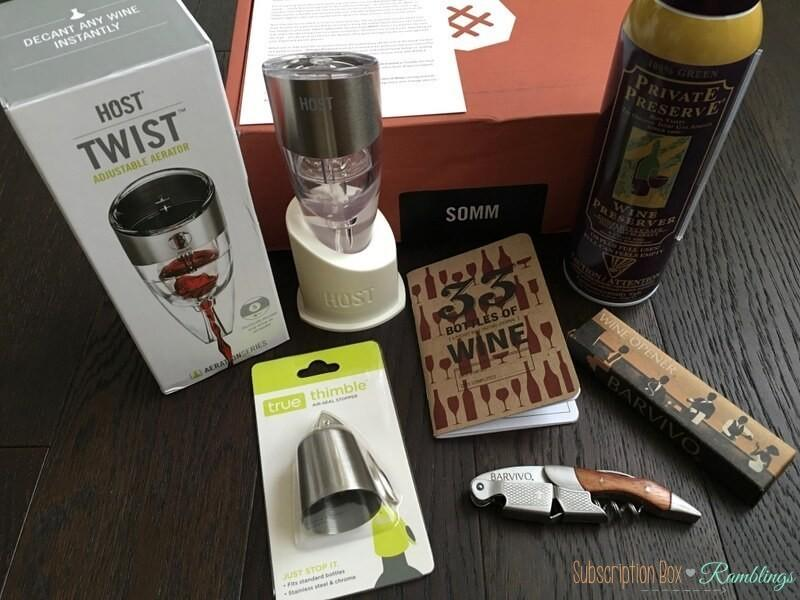 """Bespoke Post Review + Coupon Code – August 2016 """"Somm"""""""