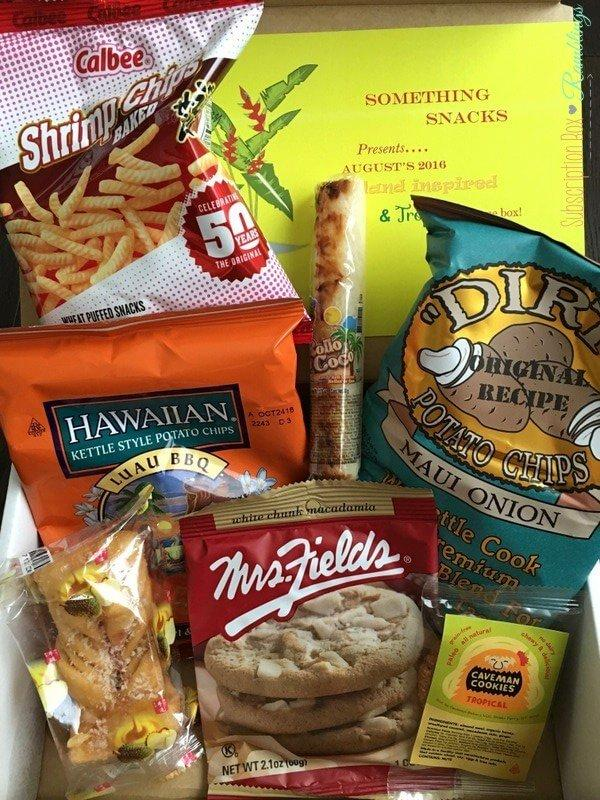 Something Snacks August 2016 Subscription Box Review
