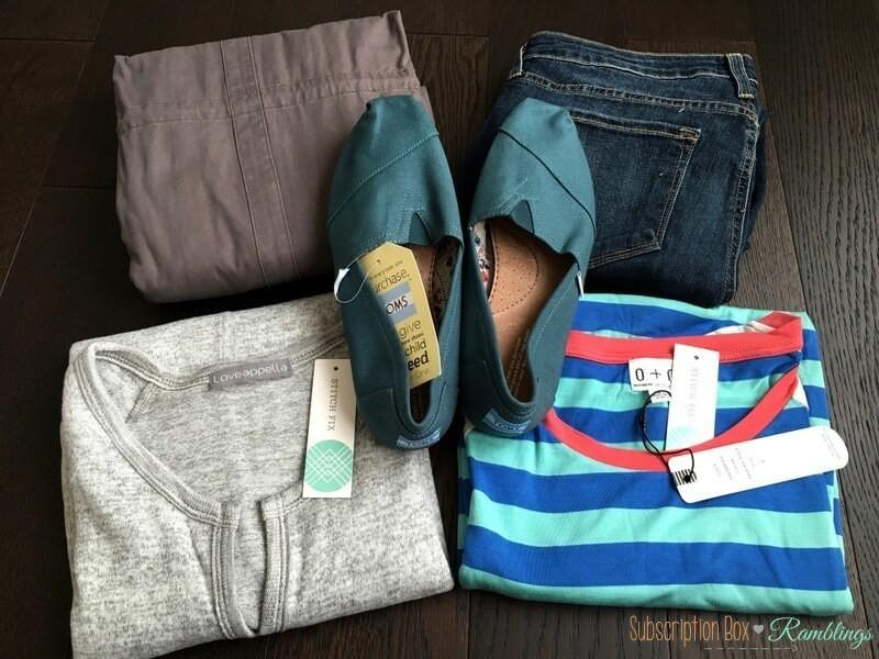 Stitch Fix Review September 2016 Subscription Box