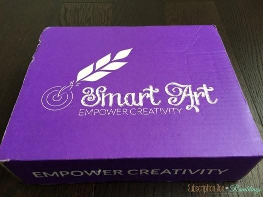 Smart Art Box July 2016 Subscription Box Review