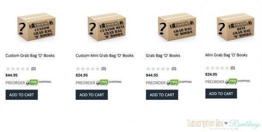 Duncan's Bookshelf – Grab Bag 'O' Books!
