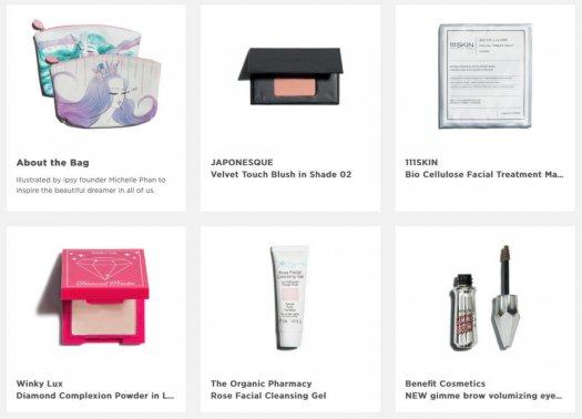 ipsy August 2016 Glam Bag Reveals are Up!