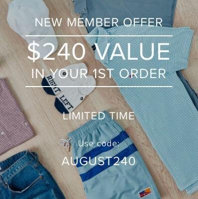 Five Four Club – $240 (aka Double) Worth of Clothing in Your First Box!