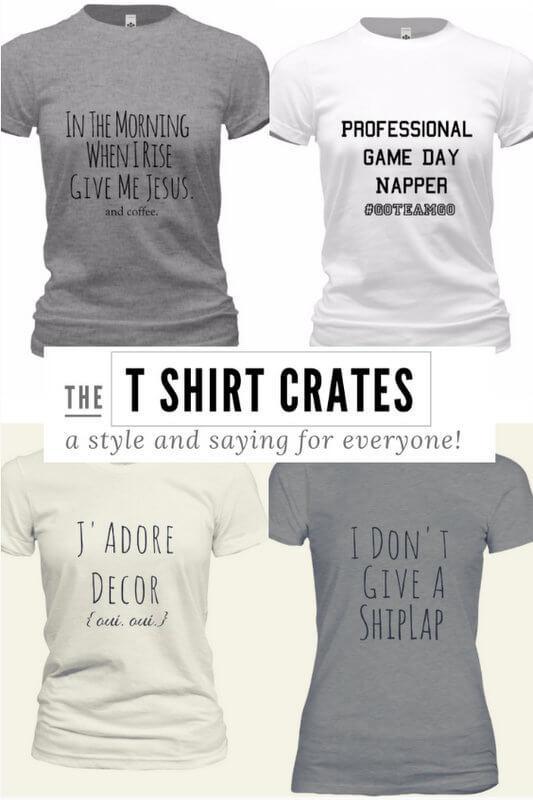 Gable Lane Crates T-Shirt Crates + Free Shipping!