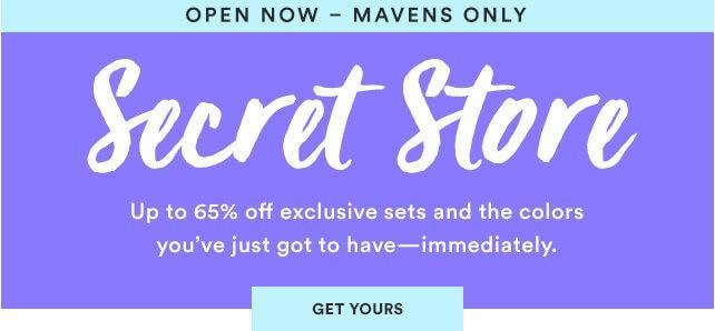 Julep September 2016 Secret Store – Now Open to all Mavens!