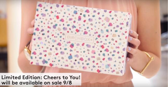 """Birchbox """"Cheers to You"""" Limited Edition Box – Full Spoilers!"""