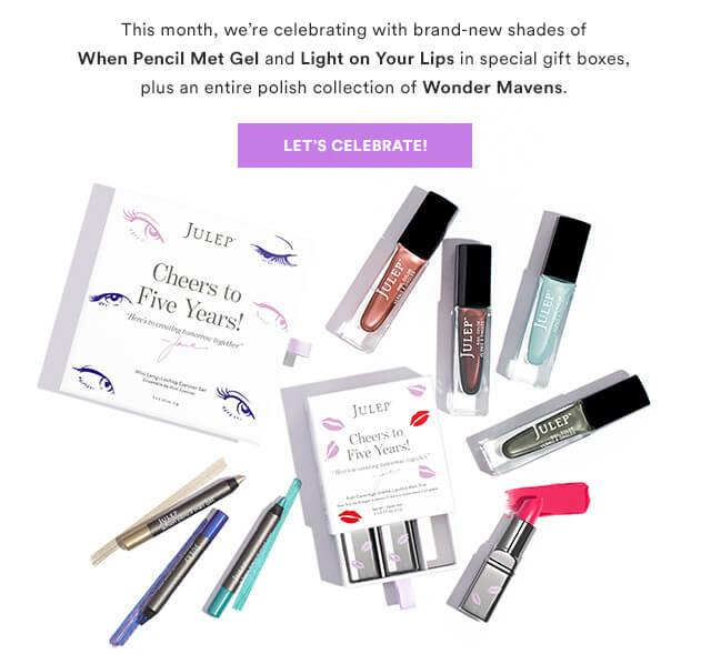 Julep September 2016 Selection Time (Last Call) + Coupon Codes