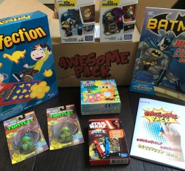 Awesome Pack August 2016 Subscription Box Review