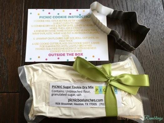 Outside the Box by Cheeky Days September 2016 Monthly Subscription Box Review