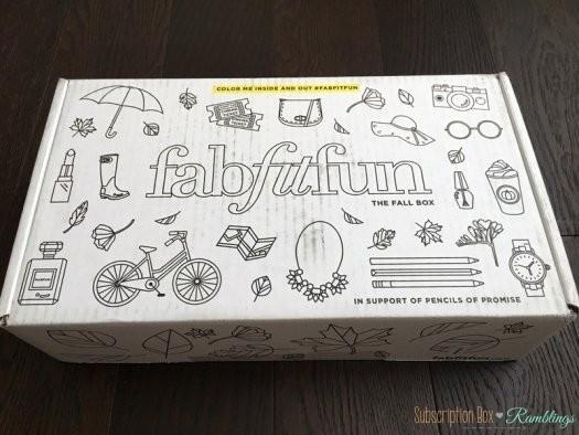 FabFitFun Fall 2016 Subscription Box Review + Coupon Code