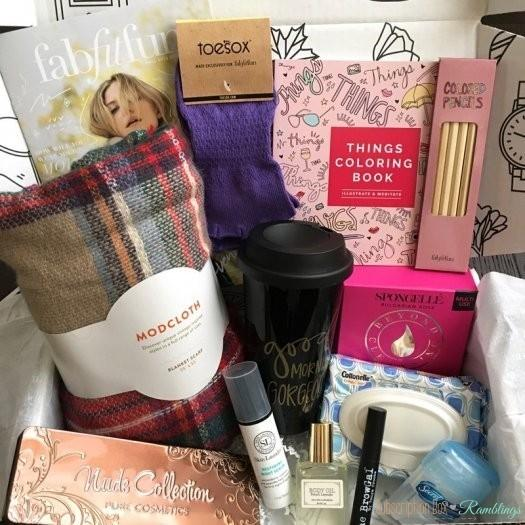FabFitFun Review   Coupon Code  Fall 2016  Subscription Box