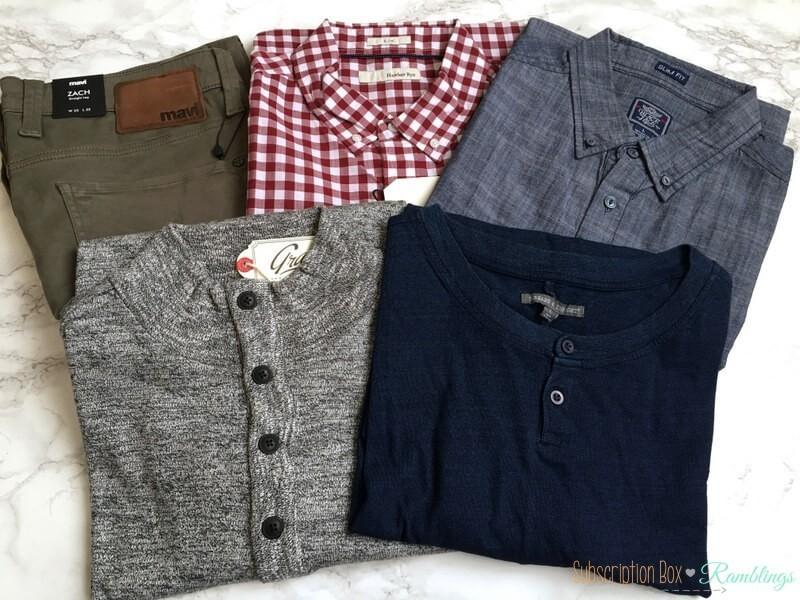 Stitch Fix For Men September 2016 Subscription Box Review
