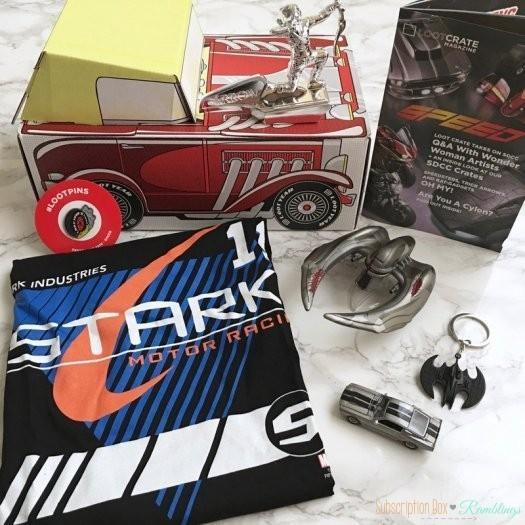 Loot Crate September 2016 Subscription Box Review + Coupon Code