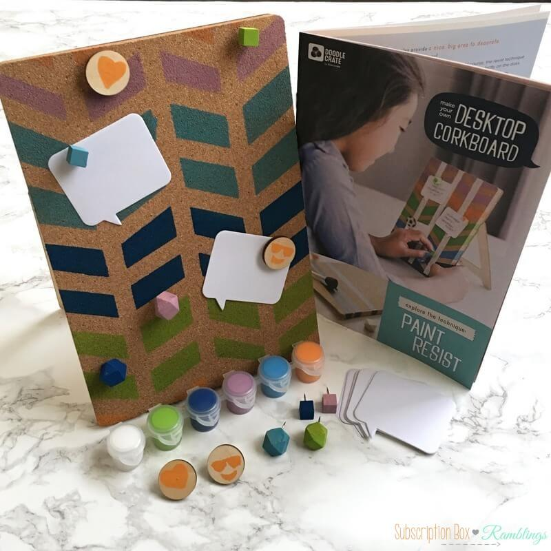 Doodle Crate Review + Coupon Code – September 2016