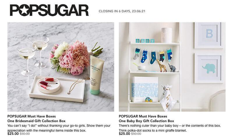 POPSUGAR Must Have Box on Rue La La! - Subscription Box Ramblings