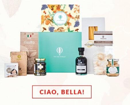 Try the World – Free Italy Box with Morocco Box Purchase