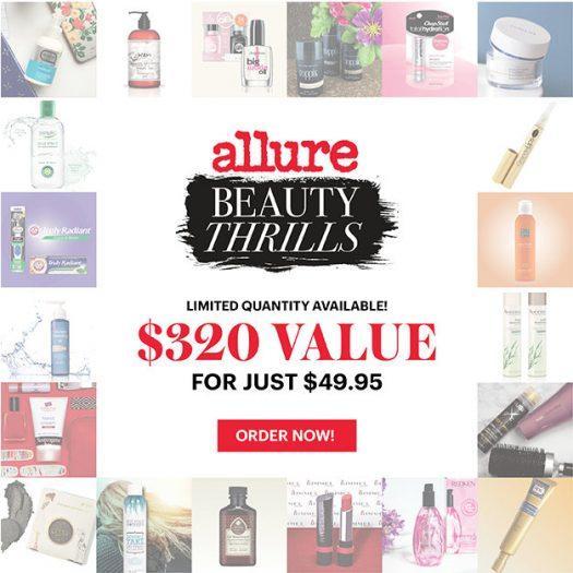 Allure Beauty Thrills Box – Still Available!