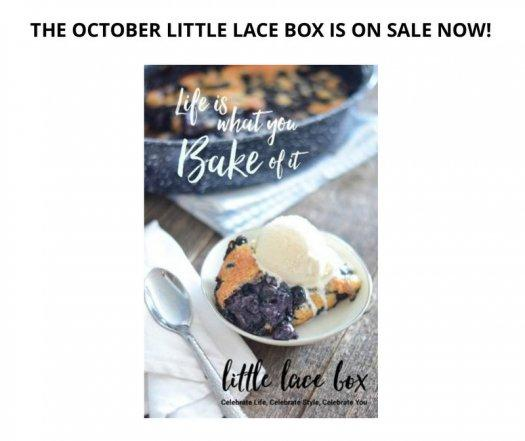 Little Lace Box October 2016 Box on Sale Now + $20 Off!
